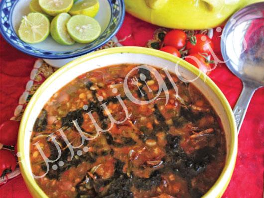 آش گوجهفرنگی | طرز تهیه آش گوجه فرنگی