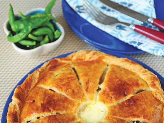 پای سیبزمینی به سبك فرانسوی