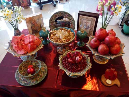 آئین برگزاری شب یلدا در کشورهای دیگر (2)