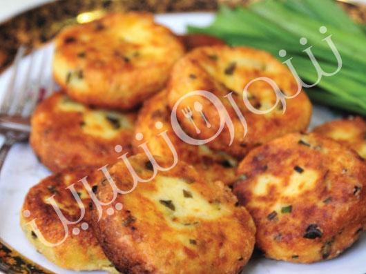 كتلت سیبزمینی | طرز تهیه کتلت سیب زمینی