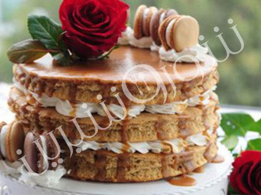 کیک قهوه و عسل | طرز تهیه کیک قهوه ای