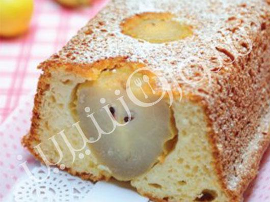 كیك گلابی و لیمو   طرز تهیه کیک گلابی