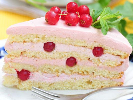 كیك توت جنگلی | طرز تهیه کیک