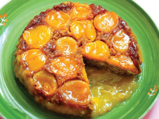 كیك زردآلوی درخشان | آموزش کیک زرد آلو