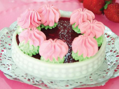 دسر توتفرنگی