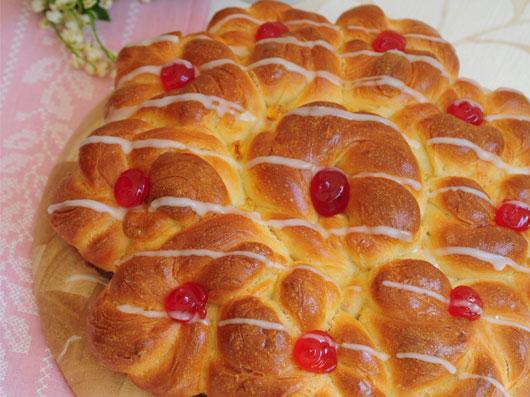 نان گل مربائی