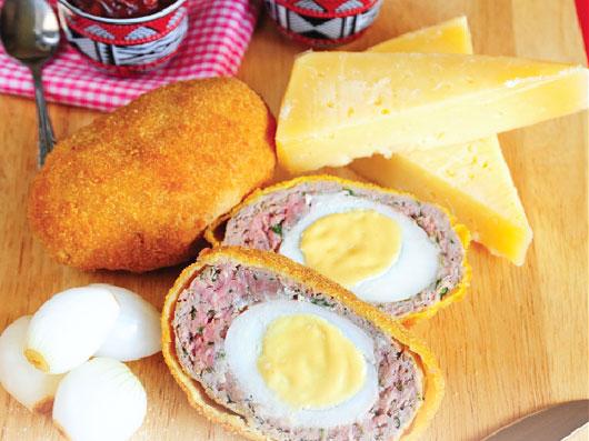 تخم مرغ سوخاری اسكاتلندی