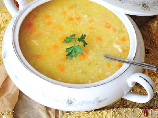 سوپ مرغ آناتولی