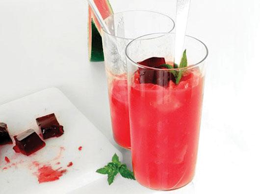 نوشیدنی ژلهای هندوانه