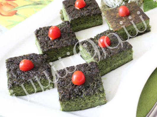 كوكوی سبزی | طرز تهیه کوکو سبزی