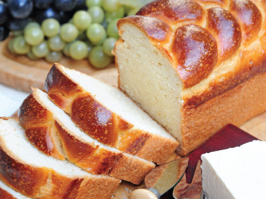 نان سفید برش
