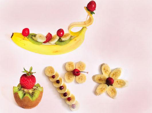 آراستن میوه