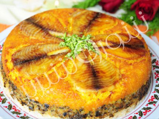 ته چين ماهی تيلاپيا (اصفهان)