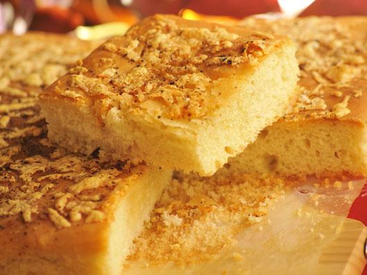 نان با آرد كامل