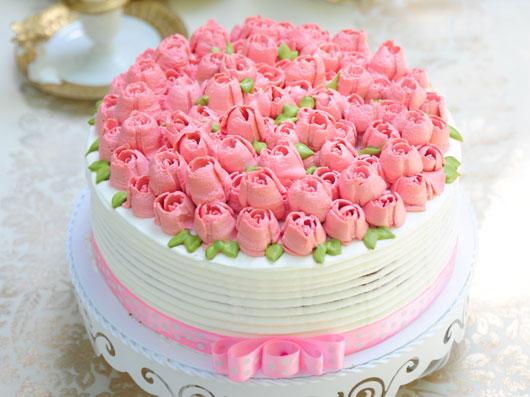 کیک ساده آجیلی