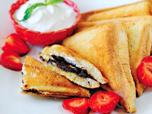 ساندویچ شكلاتی