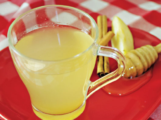 نوشیدنی سیب و بابونه