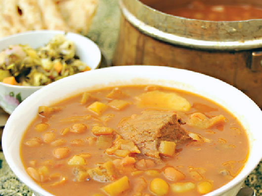 آبگوشت بادمجان (کرمان)