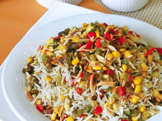 پلوی سبزیجات (هندی)