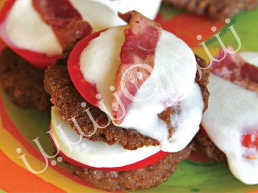 كتلت گوشت با پنیر | طرز تهیه کتلت گوشت