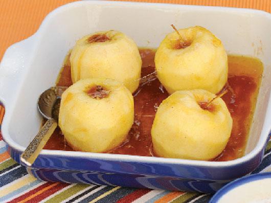 سیب های كاراملی