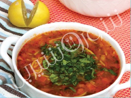 سوپ ورميشل | طرز تهیه سوپ ورمیشل