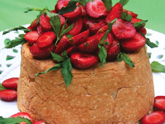 طرز تهیه کیک فرشته (Angel Food Cake)