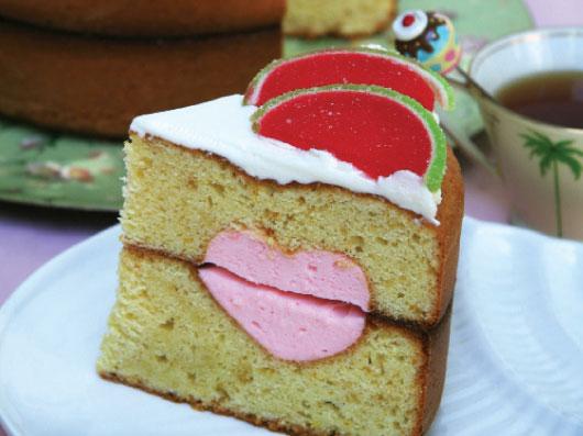 طرز تهیه کیک كرمدار