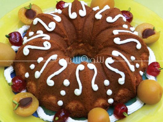 طرز تهیه کیک سیب و زردآلو