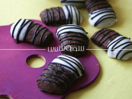 شیرینیهای كوچك شكلاتی