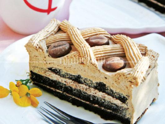 طرز تهیه کیک كاپوچینو