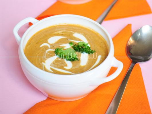 سوپ کلم براکلی | طرز تهیه سوپ کلم بروکلی