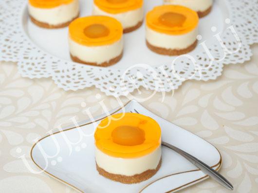 طرز تهیه چيزکیک پرتقال