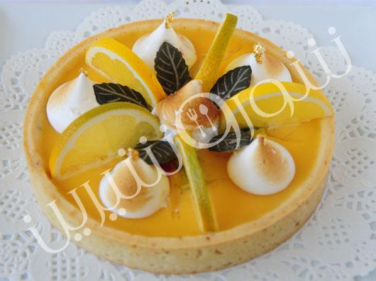 تارت لیمو و پرتقال