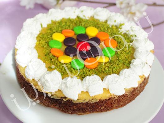طرز تهیه کیک لیمو