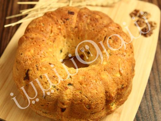 نان سيبزمینی و قارچ