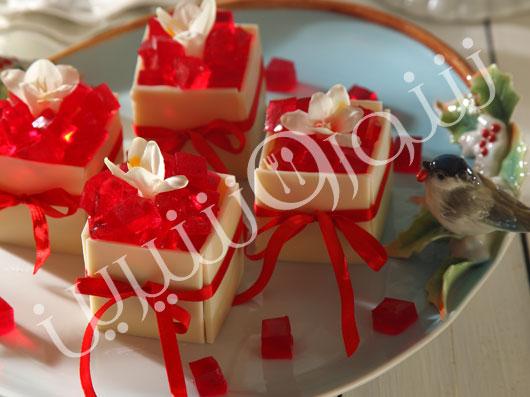 جعبههای شکلات و  ژله