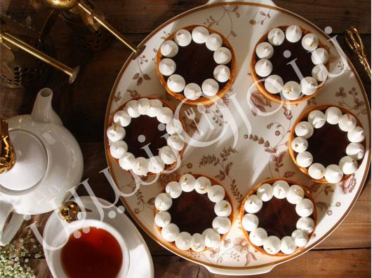 تارتلت شکلات و مرنگ