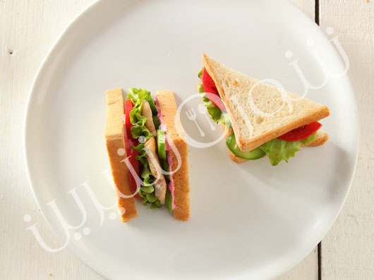 كلاپ ساندويچ مرغ