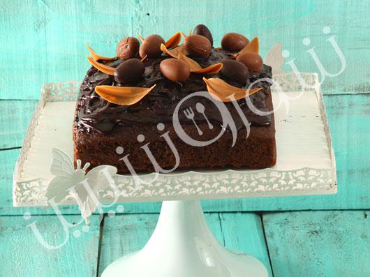 طرز تهیه کیک شکلات و قهوه