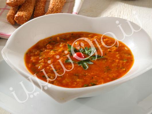 سوپ دال عدس هندی