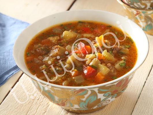 سوپ بادمجان | طرز تهیه سوپ بادمجان