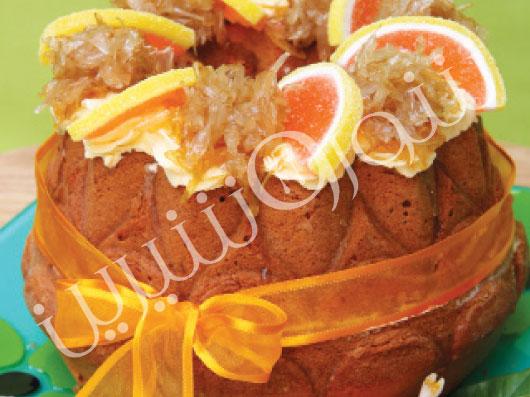 طرز تهیه کیک بهارنارنج