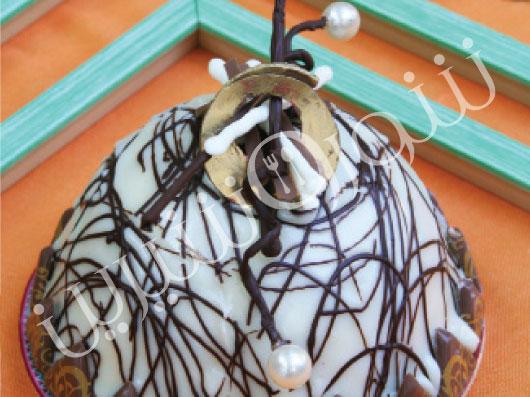 كيك با كرم قهوه | طرز تهیه کیک