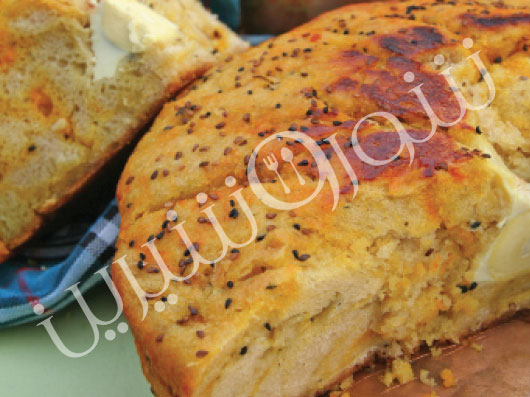 نان كماج قلیف | طرز تهیه نان