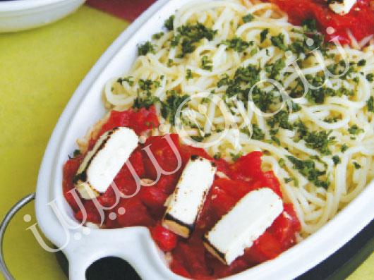 اسپاگتی با پنیر سفید   طرز تهیه اسپاگتی با پنیر سفید