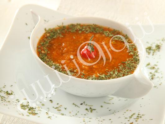 سوپ گوجه فرنگى چيلى