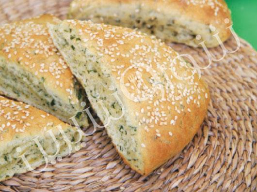 نان سبزی | طرز تهیه نان سبزی