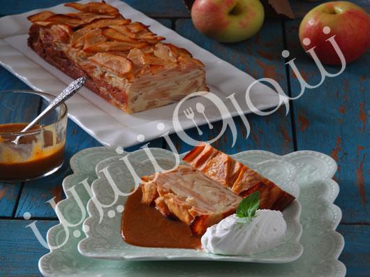 پودینگ  سیب