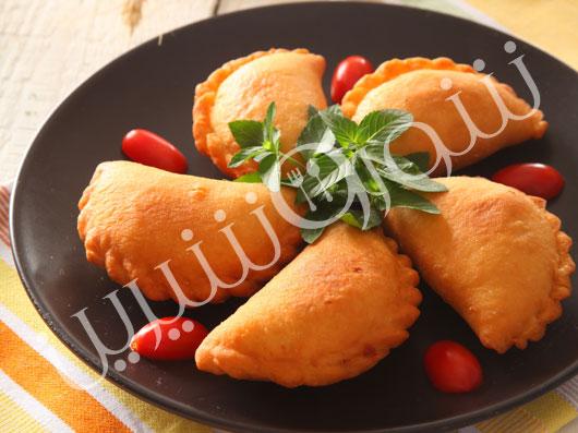 پیراشکی مرغ و نخودفرنگی